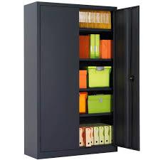 armoire bureau discount armoire de bureau portes battantes h198 l120 armoire plus