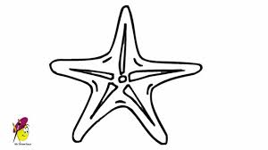 coloring pages amazing drawing of a starfish 7 how to draw