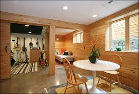 Rustic Basement Ideas by Unfinished Basement Wall Ideas Unfinished Oak Wood Wall