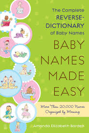 baby names made easy book by amanda elizabeth barden official