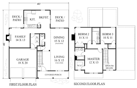 All In The Family House Floor Plan James Wentling Architects House Plans