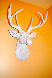 fake deer the 25 best faux deer head ideas on pinterest white deer heads