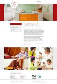 web design studium contao aachen praxis therapiepunkt bachmann design