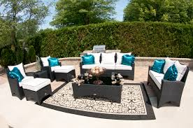 Black Outdoor Wicker Chairs Furniture Have A Charming Patio With Resin Wicker Furniture Sets