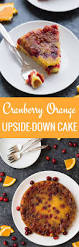 cranberry orange upside down cake baked by an introvert