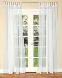 Sheer Curtains Tab Top Curtains With Tabs Of White Tab Top Sheer Curtains Tabs