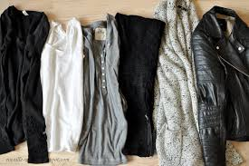 neutral colors clothing rocaille writes capsule wardrobes choosing your color palette