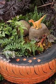 tire garden ideas how to diy old tire garden ideas recycled