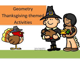 geometry thanksgiving themed activities by teaching from a z tpt