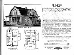 small retro house plans sears home model no 113 1 062 to 1 270 house plans