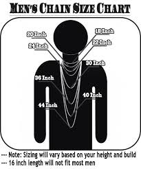 length mens necklace images Mens necklace size chart parlo buenacocina co jpg