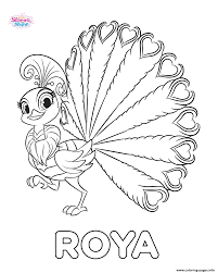 shimmer and shine roya coloring pages printable