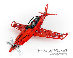 lego technic logo technicbricks week techvideo 2011 14 pilatus pc 21 trainer