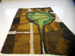 Pop Art Rugs Midcentury Modern Rugs And Textiles Collection On Ebay