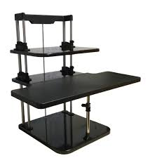 Computer Schreibtisch H Enverstellbar Sitzen Stand Riser Drei Level Höhenverstellbar Leichte Stehen