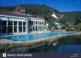 Bad Teinach Spa In Bad Teinach Black Forest Baden Wurttemberg Germany Stock