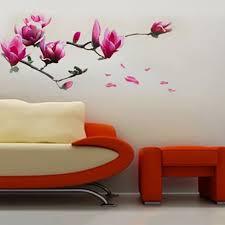 grote magnolia bloemen muurschildering kunst muur sticker stickers grote magnolia bloemen muurschildering kunst muur sticker stickers flower muralflower wall