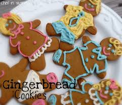 gingerbread men cookies chef in training