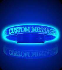 glow bracelets light wave bands l e d glow bracelets