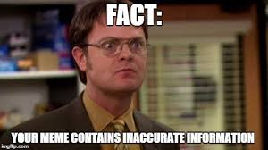 Fact Meme - image tagged in the office funny dwight schrute imgflip