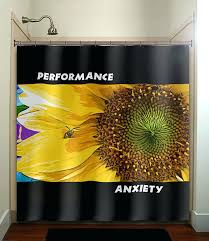 Sunflower Valance Curtains Sunflower Valance Curtains Performance Anxiety Bee Sunflower