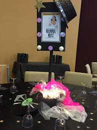 Sweet 16 Dinner Party Ideas Ny Broadway Table Decoration Party Decoration Pinterest