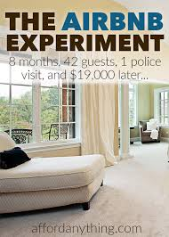 After Eight Bedroom Set The Airbnb Experiment 42 Guests 1 Police Visit And 19 000
