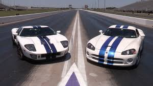 ford gt vs lamborghini murcielago 1100hp ford gt vs 1100hp viper