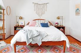 Bedroom With Area Rug 4 Fixes For The Blank Space Above Your Bed Wayfair