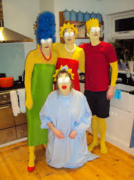 Simpsons Family Halloween Costumes by Worst Homemade Halloween Costumes