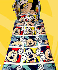 Mickey Mouse Baby Bedding Mickey Mouse Cot Bedding Ebay