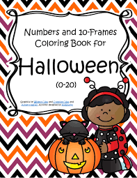 Halloween Numbers And 10 Frames Coloring Book 0 20