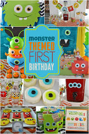 1st birthday for boys 25 birthday party theme ideas monsters birthday boys and