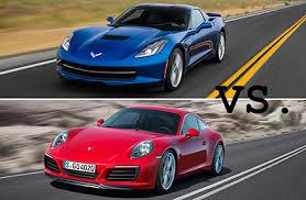 porsche boxster vs 911 to 2016 chevrolet corvette vs 2017 porsche 911 u s