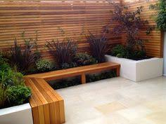 garden seating rendered wall fence garden seat gardens and