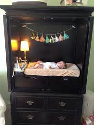 Badger Basket Armoire Tv Armoire Refurbished Into A Changing Table With Storage How