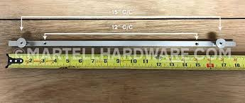 how to measure cabinet pulls lew s hardware 31 105 solid brass cabinet pull handle square bar