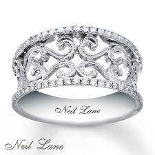 neil lane engagement rings kay neil lane diamond ring 1 4 ct tw round cut sterling silver