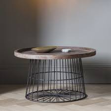 Wire Coffee Table Khalo Wire Coffee Table