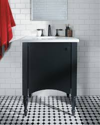 meet the neat petite kohler alberry vanity bathroom storage