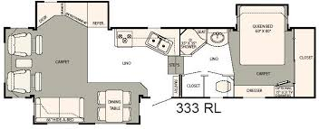hitchhiker rv floor plans used 2007 nuwa hitchhiker discover america 333rl fifth wheel at