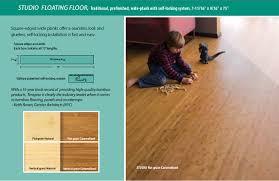 teragren bamboo studio floating floor chaign il flooring