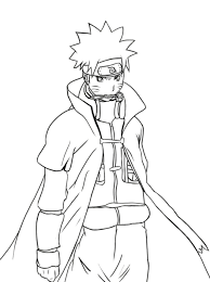 naruto shippuden coloring pages to print glum me