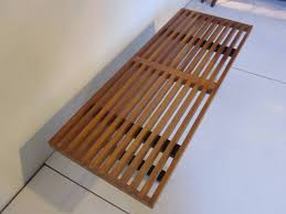 Slat Bench George Nelson Slat Bench Or Coffee Table At 1stdibs