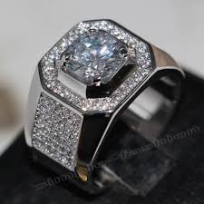 aliexpress buy anniversary 18k white gold filled 4 online get cheap men gold rings aliexpress alibaba