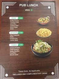 cuisine libre cuba libre menu menu for cuba libre viman nagar pune zomato