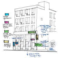 floor plan for commercial building creative thinking adapts a king west commercial building