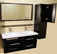 48 Inch Double Bathroom Vanity by 48 Inch Wall Mount Floating Bath Vanity Cabinet With Side Cabinets