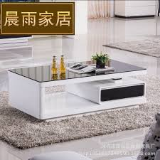 Modern Table For Living Room Coffee Table Tv Cabinet Modern Minimalist Fashion Paint Coffee