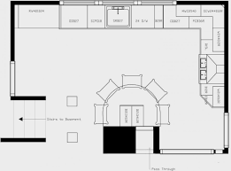 Plans For A Kitchen Island by Kitchen Floor Plan Layouts Rigoro Us
